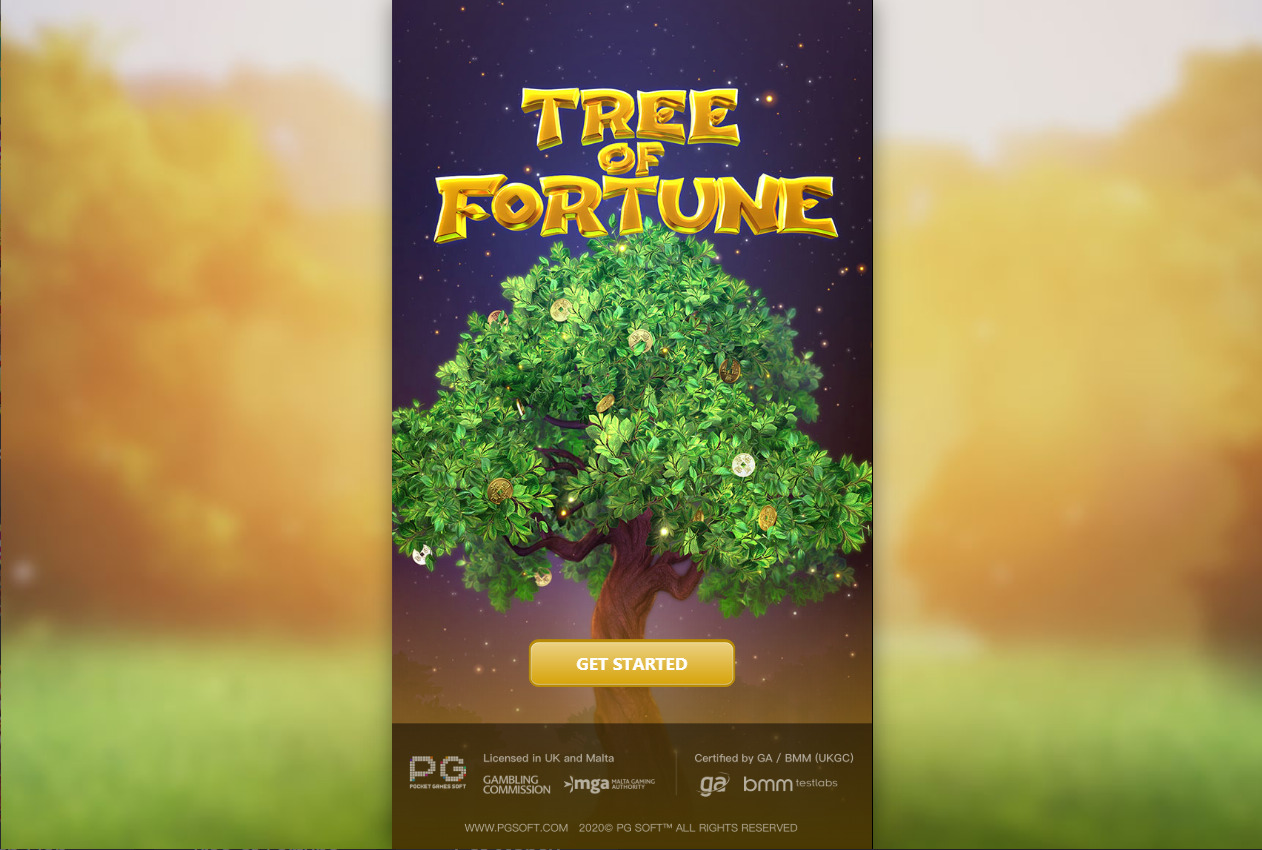 PG SLOT TREE OF FORTUNE ยืนยันข้อมูล รับเครดิตฟรี FREE 2020