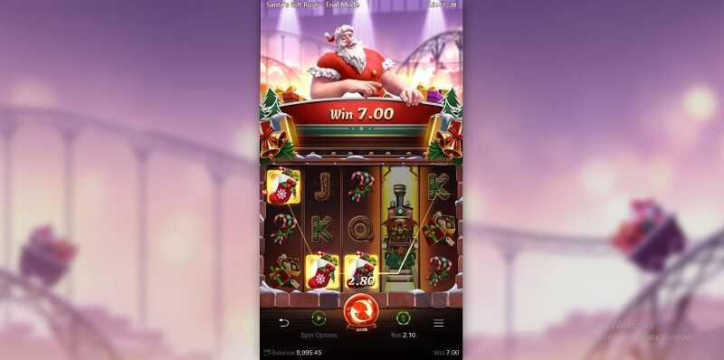PGSLOT-Santa's Gift Rush slot
