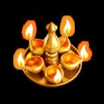 GaneshaGold Diya