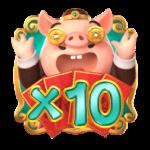PiggyGold Multiplier x10