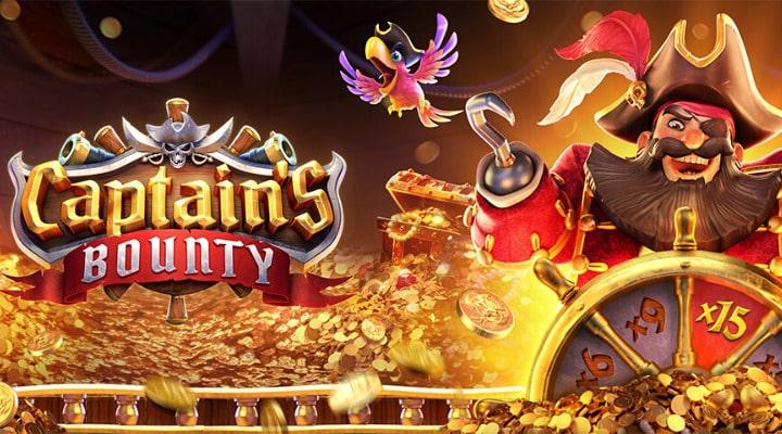 Pgs-lot-Captain's-Bounty slot