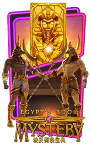 Egypts Book of Mystery Slot Header