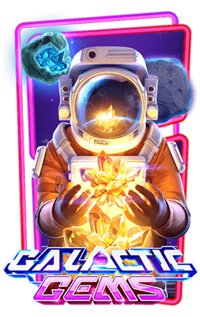 Galactic Gems Slot Header