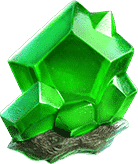 Galactic Gems green