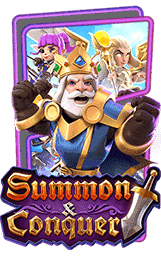 Summon Conquer Slot Header
