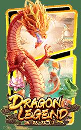 Dragon Legend Slot Header