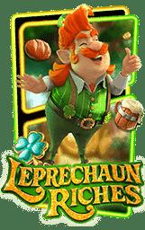 Leprechaun Riches Slot Header