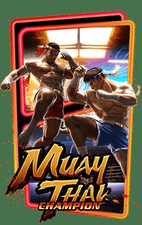 Muay Thai Champion Slot Header