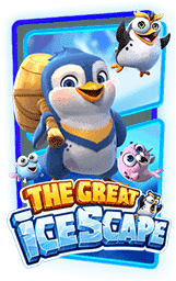 The Great Icescape Slot Header